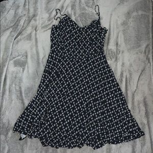 Black and white sun dress